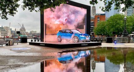 Nissan car cube