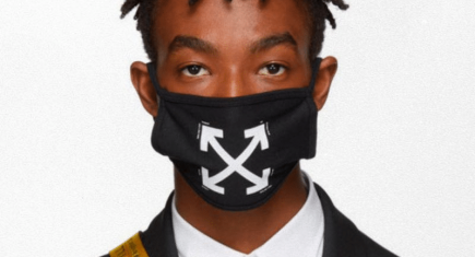 Offwhite facemask