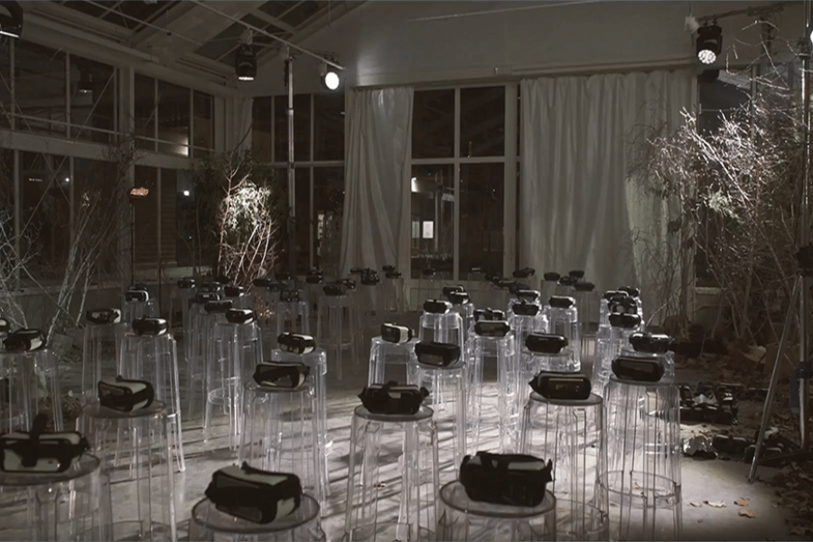 Woolrich-VR-presentation-winter-collection